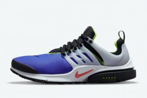 Latest Nike Air Presto Blue Volt 2021 For Sale DO6693-500