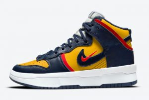 latest nike dunk high rebel michigan 2021 for sale dh3718 701 300x201