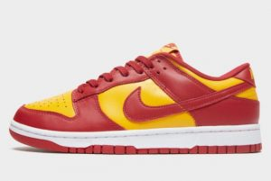 Latest Nike Dunk Low Midas Gold Midas Gold/Tough Red-White 2021 For Sale DD1391-701