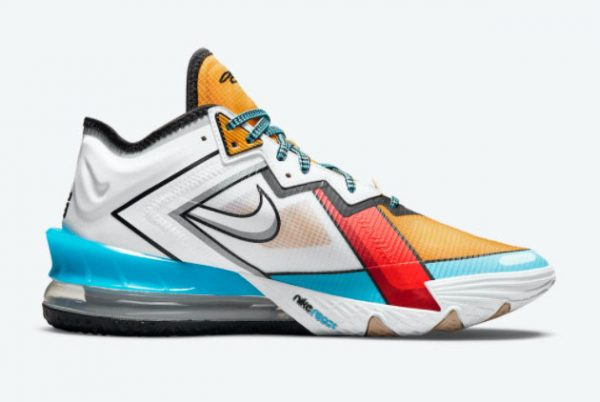 Latest Nike LeBron 18 Low Stewie Griffin 2021 For Sale CV7562-104-1