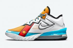 Latest Nike LeBron 18 Low Stewie Griffin 2021 For Sale CV7562-104