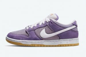 Latest Nike SB Dunk Low Unbleached Pack Lilac/Lilac-Lilac 2021 For Sale DA9658-500