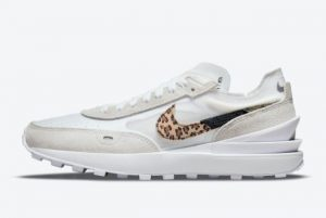 Latest Nike Waffle One Leopard White/Multi Color-White 2021 For Sale DJ9776-100