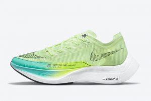 Latest Nike ZoomX VaporFly NEXT% 2 Barely Volt Barely Volt Dynamic Turquoise-Volt-Black 2021 For Sale CU4123-700