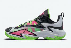 New Jordan Westbrook One Take III Neon Green Pink 2021 For Sale DC7701-002