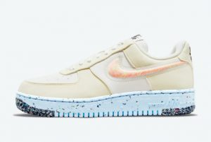 new nike air force 1 crater cream white pink 2021 for sale dh0927 100 300x201