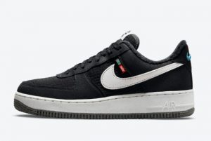 New Nike Air Force 1 Low Toasty Black White-Black-Sail 2021 For Sale DC8871-001
