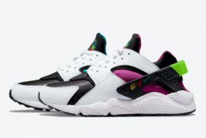 New Nike Air Huarache Peace Love Swoosh 2021 For Sale DM8152-100