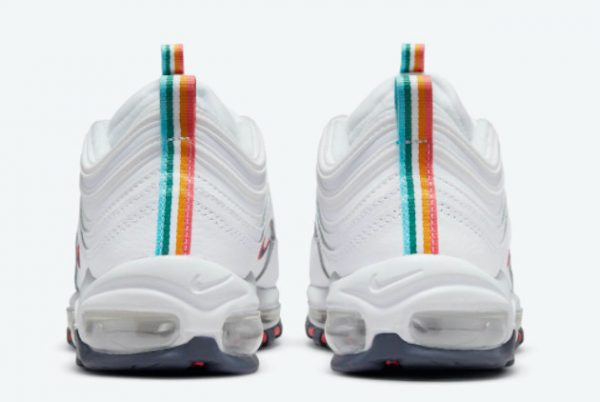 New Nike Air Max 97 White/Multi-Color 2021 For Sale DH1592-100-2