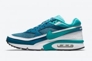 New Nike Air Max BW Marina Marina/Grey Jade-White-Black 2021 For Sale DJ9648-400