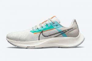 New Nike Air Zoom Pegasus 38 Copa Summit White/Light Bone-Copa-Multi-Color 2021 For Sale DC4566-100