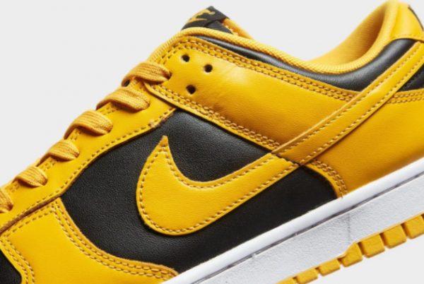 New Nike Dunk Low Goldenrod Black/Goldenrod-White 2021 For Sale DD1391-004-1