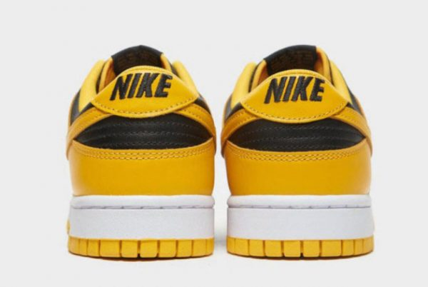 New Nike Dunk Low Goldenrod Black/Goldenrod-White 2021 For Sale DD1391-004-3
