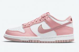 New Nike Dunk Low GS Pink Velvet 2021 For Sale DO6485-600