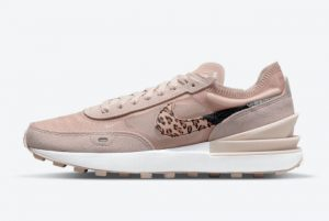 New Nike Waffle One Pink Leopard 2021 For Sale DJ9776-200
