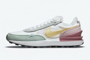 new nike waffle one white regal pink light mulberry lemon drop 2021 for sale dn5062 100 300x201