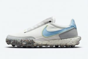 New Nike Wmns Waffle Racer Crater Aluminum Summit White 2021 For Sale CT1983-106