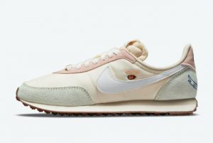 New Nike WMNS Waffle Trainer 2 Cashmere Cashmere Cashmere-Pink Oxford-White 2021 For Sale DM7188-717