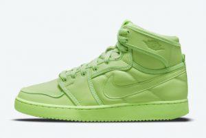 Cheap Billie Eilish x Air Jordan 1 KO Ghost Green 2021 For Sale DN2857-330