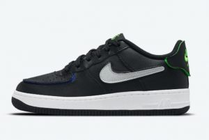 Cheap Nike Air Force 1/1 Black/White/Multicolor 2021 For Sale DH7341-001