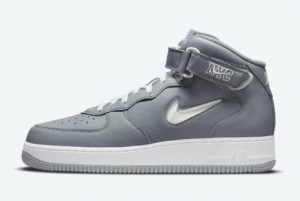 cheap nike air force 1 mid nyc cool grey white metallic silver 2021 for sale dh5622 001 300x201
