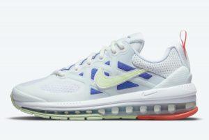 Cheap Nike Air Max Genome White/Blue 2021 For Sale DC4057-101