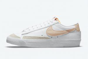 Cheap Nike Blazer Low '77 Pale Coral White Pale Coral-Black-Rattan 2021 For Sale DC4769-106