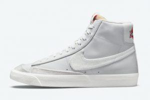 Cheap Nike Blazer Mid Sports Specialties Vast Grey Vast Grey-Chile Red-Summit White 2021 For Sale DD8021-001