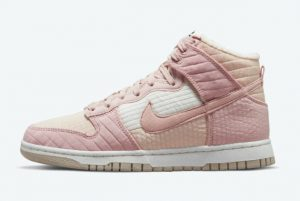 Cheap Nike Dunk High Wmns Toasty Pink Cream 2021 For Sale DN9909-200