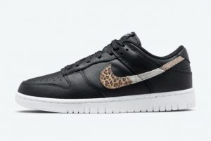 Cheap Nike Dunk Low Animal Print Black/Multi-Color 2021 For Sale DD7099-001