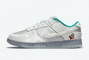 Cheap Nike Dunk Low Ice Christmas 2021 For Sale DO2326-001