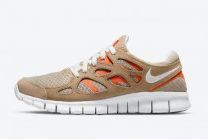 Cheap Nike Free Run 2 Sand Orange 2021 For Sale DO1154-200