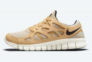 Cheap Nike Free Run 2 Wheat 2021 For Sale DM9057-200