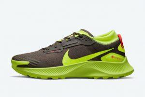 Cheap Nike Pegasus Trail 3 Gore-Tex Brown/Volt 2021 For Sale DO6728-200