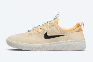 Cheap Nike SB Nyjah Free 2 Beach Beach Topaz Gold-Bright Crimson-Black 2021 For Sale BV2078-200