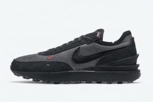 Cheap Nike Waffle One Black Reflective 2021 For Sale DO6387-001