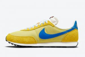 Cheap Nike Waffle Trainer 2 Yellow Strike Hyper Royal-Saturn Gold 2021 For Sale DC8865-700