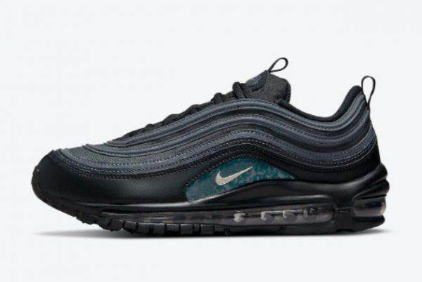 New Nike Air Max 97 Black/Grey/Emerald Green 2021 For Sale DH0558-001