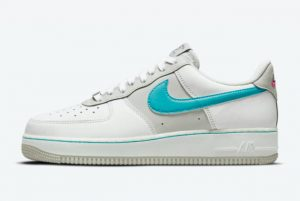 Latest NBA x Nike Air Force 1 Low Fiesta 2021 For Sale DC8874-100