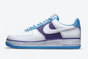 Latest NBA x Nike Air Force 1 Low Lakers White White-Coast-Field Purple 2021 For Sale DC8874-101