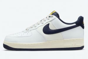 Latest Nike Air Force 1 '07 LV8 Midnight Navy White Midnight Navy-Sail 2021 For Sale DO5220-141