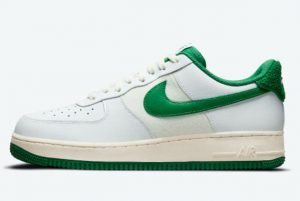 Latest Nike Air Force 1 '07 LV8 White Green-Sail 2021 For Sale DO5220-131