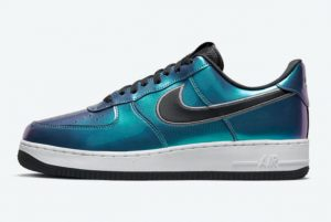 Latest Nike Air Force 1 Low Iridescent 2021 For Sale DQ6037-001