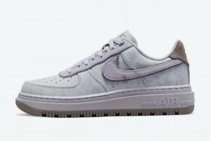Latest Nike Air Force 1 Luxe Purple 2021 For Sale DD9605-500