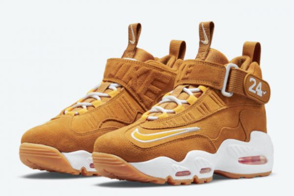 Latest Nike Air Griffey Max 1 Wheat 2021 For Sale DO6685-700-2