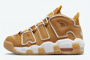 Latest Nike Air More Uptempo GS Wheat 2021 For Sale DQ4713-700