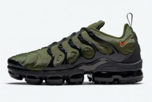 Latest Nike Air VaporMax Plus Olive 2021 For Sale DQ4688-300