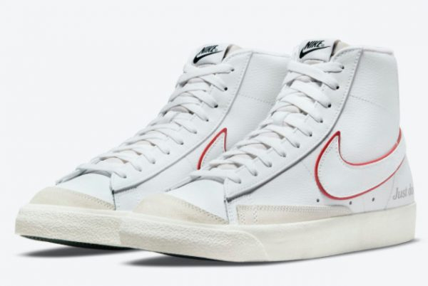 Latest Nike Blazer Mid '77 Just Do It 2021 For Sale DQ0796-100-2