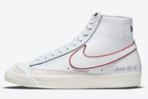 Latest Nike Blazer Mid '77 Just Do It 2021 For Sale DQ0796-100