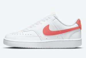Latest Nike Court Vision Low Magic Ember White Saturn Gold-Magic Ember 2021 For Sale CD5434-112